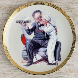 """Ships Ahoy"" by Norman Rockwell"
